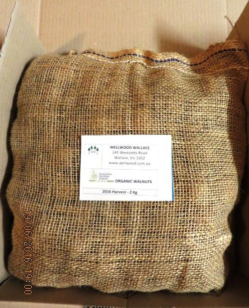 e. Australian Organic Walnuts in Shell - 2Kg