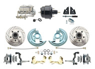 DBK6472LX-GM-704 1964-1972 Chevelle, El-Camino 1967-1969 Camaro & 1968-1974 Nova Disc Brake Conversion Kit