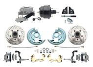 DBK6472LX-GM-709 1964-1972 Chevelle, El-Camino 1967-1969 Camaro & 1968-1974 Nova Disc Brake Conversion Kit