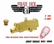 14041636 - GM Chevy Truck  Disc/Drum Proportioning Valve - Brass