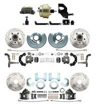 DBK6272834LX-MP-203- Mopar B & E-Body Four Wheel Front & Rear Disc Brake Conversion Kit
