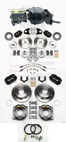 "Mopar 1962-74 B & E Body Wilwood Disc Brake Kit w/ 8"" Bendix Style Booster Kit"