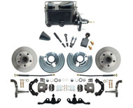 1966-74 Dodge Dart Mopar A-Body  Front Disc Brake Conversion  Kit for 5x4.5 Bolt Pattern & Manual Brakes