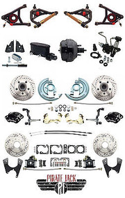 Deluxe Chevelle Front & Rear Disc Brake Performance, Wilwood & Tubular A-Arms