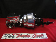 1957-72 Ford Galaxie & Fullsize Cars Chrome Power Brake Booster Assembly