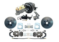 "1957-1971 Mopar 8"" Power Brake Booster & Disc Brake Kit for D100 Dodge Trucks"