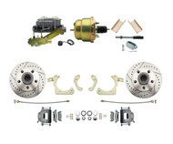 1955-1958 Chevy Impala, Bel-Air Biscayne Power Disc Brake Kit LX Rotors