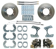 "Ford 8"" or 9"" Pre 1987 Ford Truck F-100, F-150, Bronco Rear Disc Brake Conversion Kit"