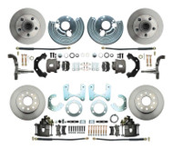 Mopar A, B, E  Body Front & Rear Disc Brake Kit