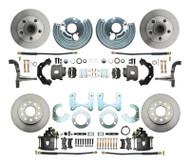 Mopar A, B, E  Body Front & Rear Disc Brake Kit
