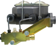 MCK111LM - Universal Cast Iron Master Cylinder Kit w/ Left Mount Disc/ Drum Proportioning Valve