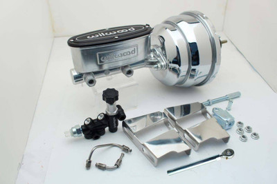 1960-66 GM / Chevy Truck Wilwood Chrome PWR Booster / Master Assembly