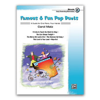 Famous and Fun Pop Duets, Book 2