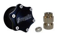 Our Gen2 Quick-Release Hub is hands down one of the coolest and most functional products you can get for your new Yamaha. This is the same one that we have been racing and winning with for years bringing home multiple championships from the Baja 1000 and the MINT 400 to Glamis and Mud Nationals. The billet aluminum construction has been precision machined to precisely fit the Yamaha platform. Black anodizing on the Hub for style and electroless nickel plating on the spline for longevity ensure proper function for years to come. Designed with a 6-lug bolt pattern the hub will fit all of DragonFire's Steering Wheels and most name brand 6 lug wheels. Take control like the pros with DragonFire.