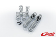 PRO-UTV Stage 1 – Our Stage 1 System replaces the factory springs with our race proven Eibach dual-springs to deliver a durable, repeatable performance and a sag free ride.   Each PRO-UTV System delivers the maximum performance for any terrain using our ERO (Eibach Racing Off-Road) springs. The choice of Off-Road Champions from SCORE to WRC, these springs are engineered to withstand the extreme off-road challenges with legendary performance, quality and reliability.  Includes Springs, Sliders and Setup instructions for easy installation. Engineered and Tested FOR Enthusiasts - BY Professionals for Maximum Performance on any Terrain. Race Proven Durability, Quality and Repeatability you can rely on. Made By Eibach in the USA Lifetime Warranty