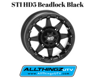 STI HD5 Beadlock (Black)