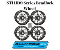 STI HD9 Series Beadlock Wheel 5+2 offset (Machined)