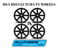 MSA M33 CLUTCH UTV WHEELS (4)