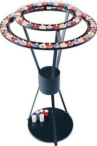 Circular Votive Light Candle Stand holds 57 lights