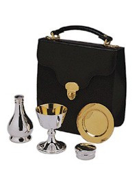Silver plated 4 pce communion set
