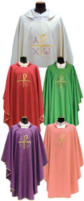 Beautiful Chasubles in 5 colours