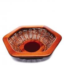 Collection basket with red centre