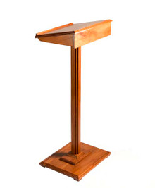 Lectern in wood