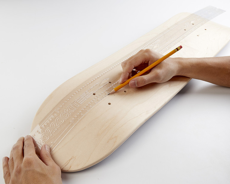 """Now available in a flexible clear 34"""" size specially created for New School / Street Deck board building."""