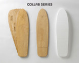 Includes two 7-layer sets of Replay-shaped maple veneer, plus a matching shaped foam mold.