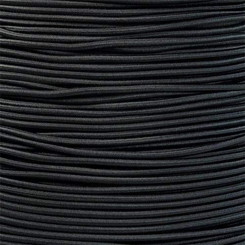 Black - 1/8 Shock Cord