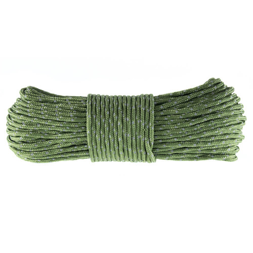 Reflective Tent Rope - Army Green