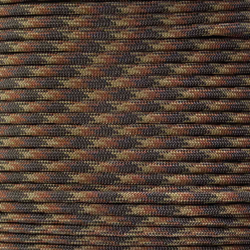 Brown Blend - 550 Paracord - 100ft