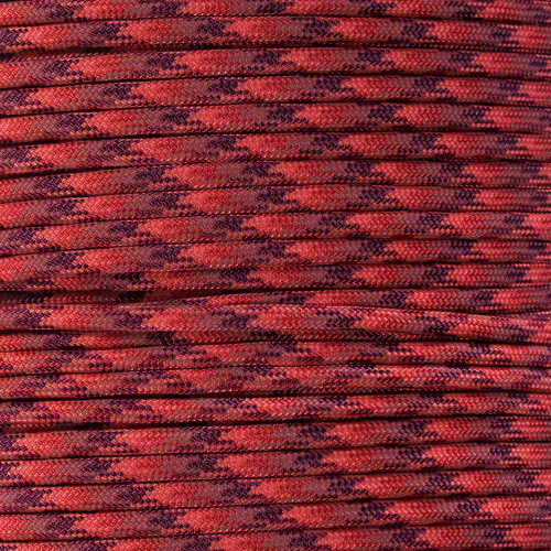 Red Blend - 550 Paracord - 100ft