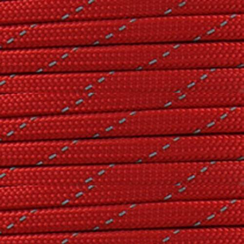 Imperial Red - 550 Paracord (Reflective)