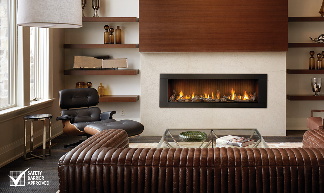 NAPOLEON LHD62 VECTOR MODERN LINEAR GAS FIREPLACE