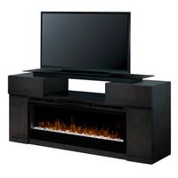 Dimplex Concord Media Console with Glass Ember Bed