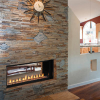 SUPERIOR VRL 4500 SEE THROUGH VENT FREE GAS FIREPLACE