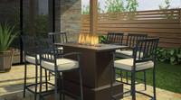 Regency Plateau Cocktail Table