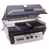 Details about  Broilmaster Built-In P3SX Premium Grill,SS Griddle, SS Smoker Shutter