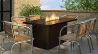 REGENCY ISLAND TABLE GAS FIRE TABLE