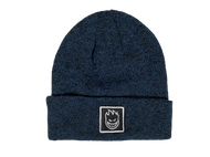 Spitfire Wheels Bighead Block Cuff Beanie Navy Heather