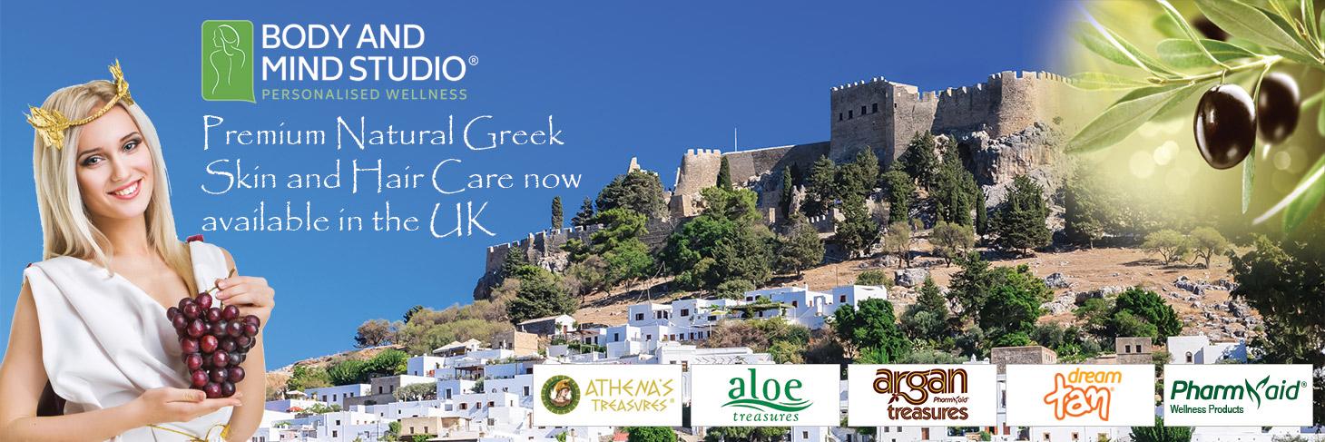 Pharmaid Greek Organic Skin and Hair Care Products