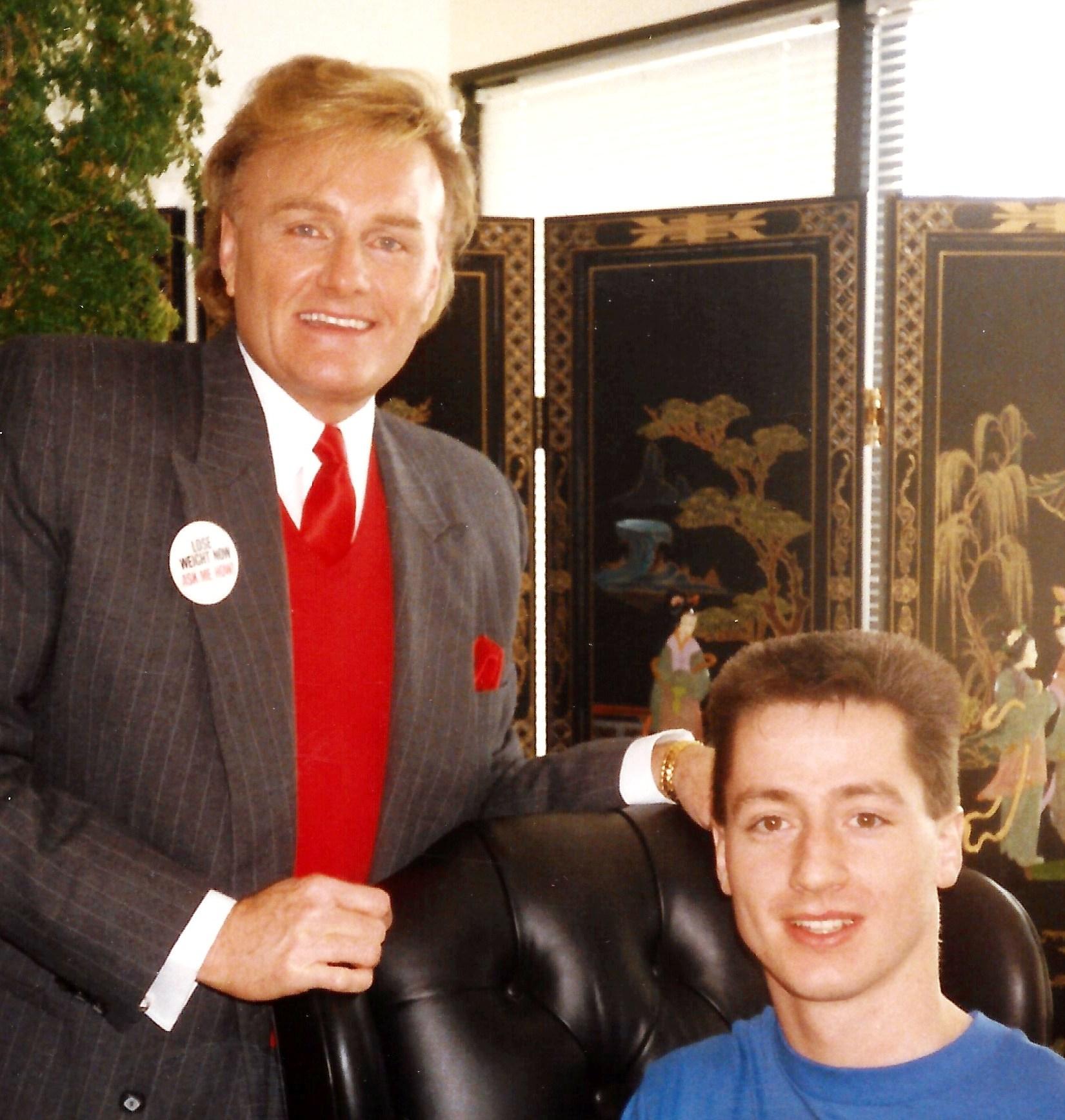 Larry Thompson & Paul Hopfensperger - Herbalife HQ Los Angeles 1988