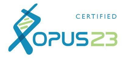 OPUS23 Certified