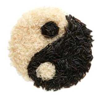 Rice Yin-Yang