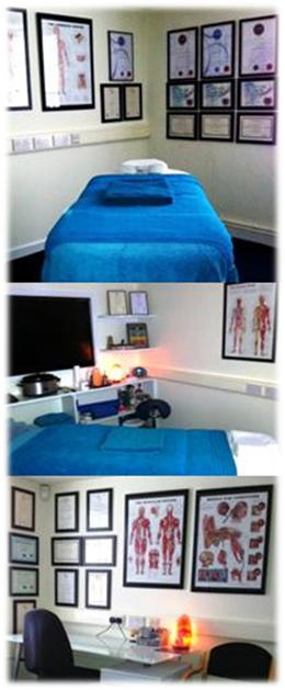 One of Body and Mind Studio's Treatment Rooms