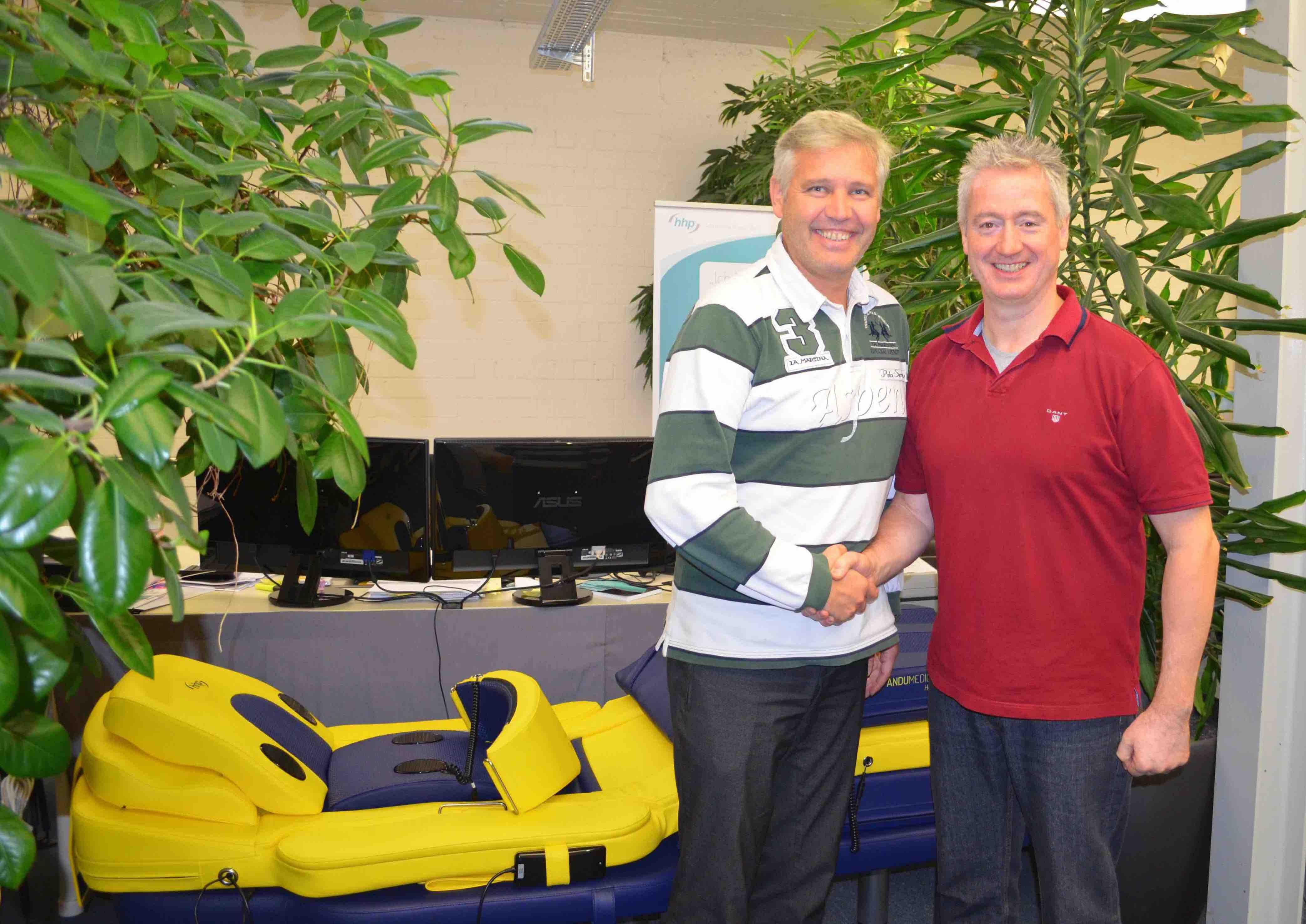 Prod Dr Stutz and Paul Hopfensperger MIfHI