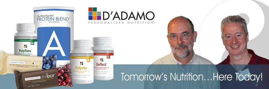 D'Adamo Personalised Nutrition - UK & EU