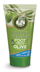 Athena's Treasures Foot Cream Tea Tree Oil (100ml)