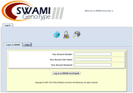 Dr. Peter D'Adamo's SWAMI III GenoTyping software is used to determine your optimal diet and exercise regime.